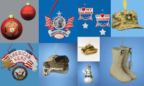 We found 70++ Images in Military Christmas Tree Ornaments Gallery: