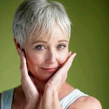 best fine short hairstyles for grey hair