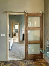 barn door with glass interior glass barn doors house design ideas sliding barn door with glass