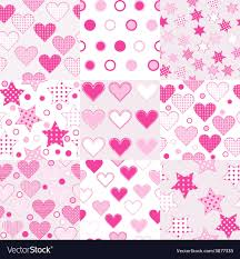 Baby Patterns Inspiration Baby Girl Seamless Background Patterns Royalty Free Vector