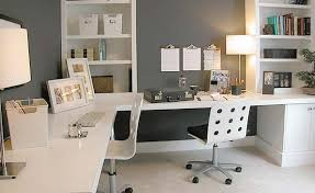 small office home office design. Chic Office Design Ideas For Small Spaces Home Beautyhomeideas R