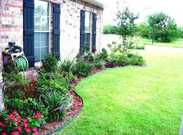 simple landscaping ideas. Colorful Simple Landscaping Flowers For Small Front Yard Pictures Ideas Impressive