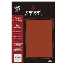 A4 (21,0 x 29,7 cm) gramatura: Papel Textura Telado A4 180g Vermelho Com 15 Folhas Canson Lepok A Sua Grande Papelaria
