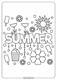 Add some color to your summer with our free summer coloring pages. Color Stunning Summer Coloring Pages To Print Freeer Printable Activities For Kids Word Search Puzzles Sheets Free Madalenoformaryland