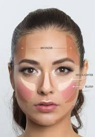 where to apply concealer and highlighter follow this simple map for your perfect summer makeup