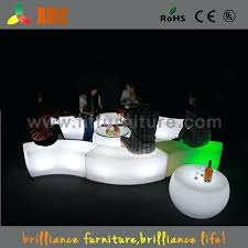 luxury light outdoor furniture and led up garden party chair 46