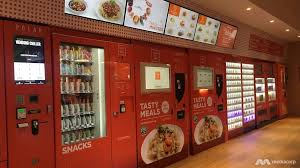 Jr Food Vending Machine Fascinating ChefinBox's Vending Machine Cafes Going To London By 48
