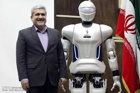 Image result for نسل چهارم ربات انسان نمای ایرانی «سورنا» رونمایی شد