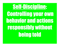 discipline my everyday psychology self discipline