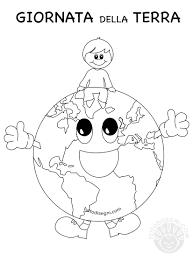 Giornata Della Terra Per Bambini Disegno Da Colorare Tuttodisegni