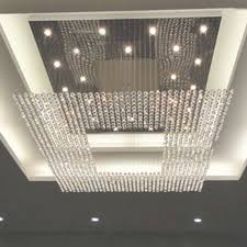 new square modern string big crystal chandeliers hotel lobby regarding big modern crystal and steel