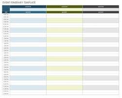 Make A Vacation Itinerary Free Itinerary Templates Smartsheet