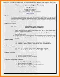 8 Free Resume Templates For Teachers To Download Resume Easy Format