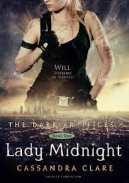 fan made cover for the dark artifices lady midnight