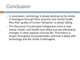 technology is destroying the minds of teenagers presentation negative aspects of cell phone use 16