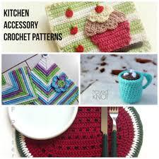 Craft For Kitchen 13 Quick Kitchen Crochet Patterns