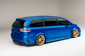 Toyota Debuts Land Speed Cruiser, Extreme Sienna Concepts at SEMA ...