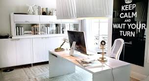 White office decors Contemporary Black White Office Decor View In Gallery Work It Out Using The Office Black And White Black White Office Decor Csbestsite Black White Office Decor Download Black And White Office Decor Black