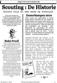 De Wouw Jaar Scouting In Nederland 2 Pdf