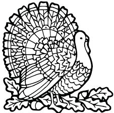 turkey coloring pictures printable pages already colored color page free animal colori