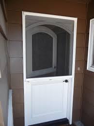 Diy Exterior Dutch Door Dutch Doors Stowaway Arched Dutch Door Retractable Screen