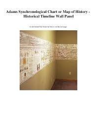 Pdf Download Adams Synchronological Chart Or Map Of History