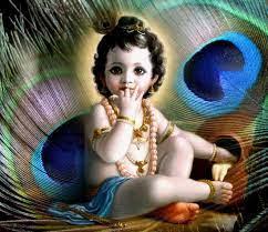 Hd Wallpaper Cute Cute Baby Krishna ...