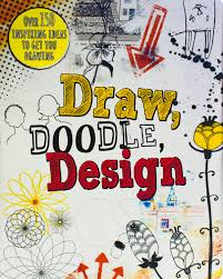 draw doodle design drawing books parragon books 9781472352200 amazon books