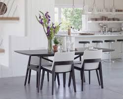 Classic modern Scandinavian dining room design