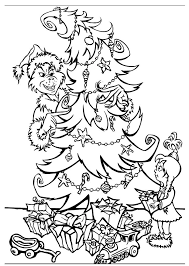 Grinch book with free pictures. Free Printable Grinch Coloring Pages For Kids Christmas Tree Coloring Page Printable Christmas Coloring Pages Free Christmas Coloring Sheets