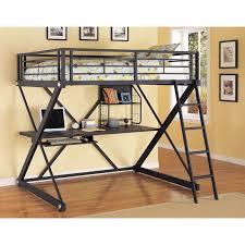 Loft Bedroom Furniture Powell Z Bedroom Full Over Full Loft Bed Reviews Wayfair