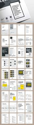 best ideas about report design annual report proposal and portfolio templateminimal and professional proposal brochure template for creative businesses created in adobe