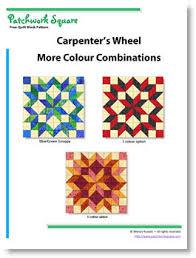 Carpenter's Wheel - Free Quilt Block Pattern & Carpenter's Wheel. Free Quilt Block Pattern Adamdwight.com