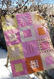 61 best Quilts - Square in a Square images on Pinterest | Quilting ... & Simple quilt pattern Adamdwight.com