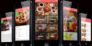 restaurant menu design app restaurant menu ionic theme