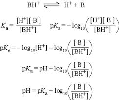 Henderson Hasselbalch Chem 245 Buffers