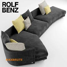 comfortable rolf benz sofa. With The Combination Of Lively, Curved Shapes, Cozy Lounging Cushions, High-quality Seat Comfort And Lovingly Selected Fabrics, Rolf Benz ONDA Makes It Easy Comfortable Sofa
