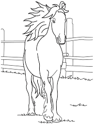 Small Picture 35 best Coloring pages images on Pinterest Horse coloring pages
