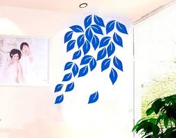 dream decorations 3d leaves wall stickers clearance