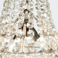fresh small french chandelier or small french crystal chandelier circa in excellent condition for in