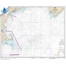 Gulf Of Maine Chart Waterproof Noaa Chart 13009 Gulf Of Maine And Georges Bank