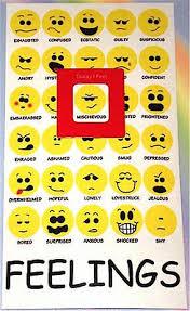 New Feelings Chart Mood Magnet How I Feel Emotions