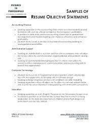 Good Objective For Resume Best Marketing Objective Resume Objective In A Resume A Good Resume