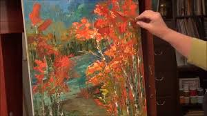 astonishing palette knife painting acrylic technique for art style and classical