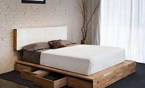 DIY Storage Beds Platform Bed With Drawers Diy The Budget Decorator