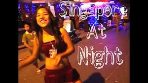 Red Light District Geylang Singapore Singapore Geylang Redlight Area Midnight Girls Youtube