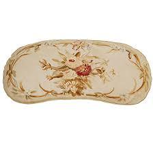 harrison soumack rug french market collection heather aubusson cushion