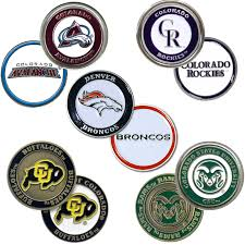 ball markers. colorado teams - stock ball markers b