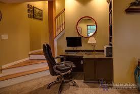 Basement Office Design Extraordinary Gallery Basement J R Construction Services Inc