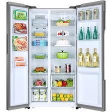 haier american fridge freezer. haier hrf-522ig6 american fridge freezer with water dispenser - silver e